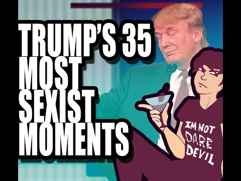 Trump's 35 Most Sexist Moments! EYKIW: Part 2