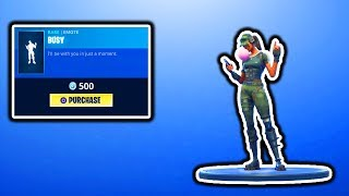 FORTNITE NEW BUSY EMOTE! FORTNITE ITEM SHOP COUNTDOWN! DAILY ITEM SHOP UPDATE! FREE V-BUCKS GIVEAWAY