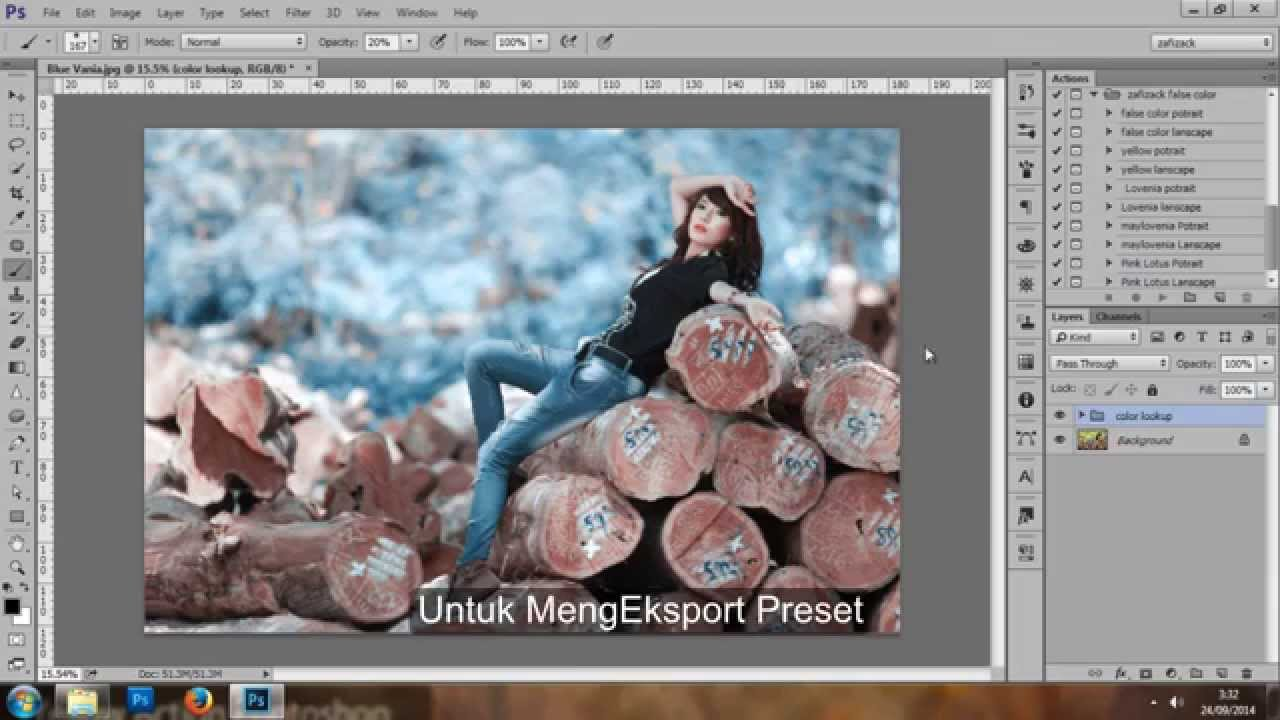 how to use presets in photoshop cc