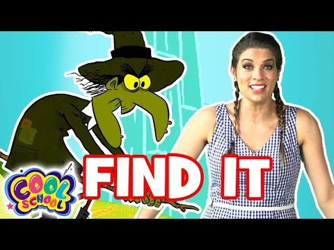 Find the Witches!🌈💚Wizard of Oz Story Time with Ms. Booksy🌈💚 Find It Games | Cartoons for kids
