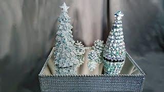 Шикарный Новогодний декор для дома. Новогодние поделки