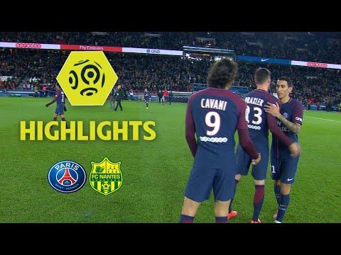 Paris Saint-Germain - FC Nantes (4-1) - Highlights - (PARIS - FCN) / 2017-18