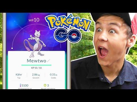 Arazhul auf der Suche nach MEWTWO in Pokémon GO