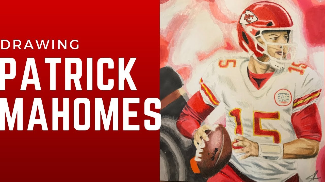 Drawing Patrick Mahomes