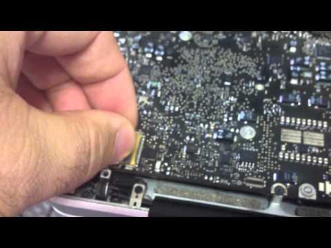 MacBook Repair Tip: Burned or Damaged LED connector port that damages your Apple laptop