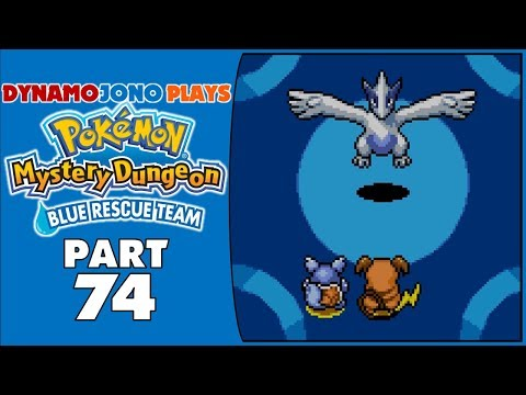 Pokémon Mystery Dungeon: Blue Rescue Team | Part 74 – Encountering Lugia In Silver Trench