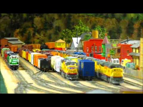 11/5/16 Open House at the Highland Pacific Model Railroad Club