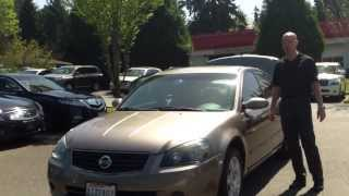 2005 Nissan Altima S - In 3 minutes you