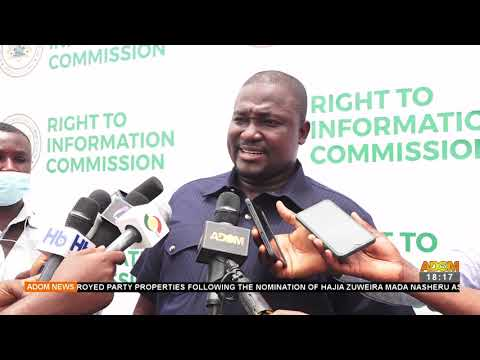 Right to Information: RTI Commission to create awareness – Adom TV News (20-9-21)