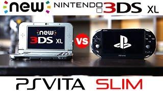 New Nintendo 3DS XL Vs PS Vita Slim Full Comparison
