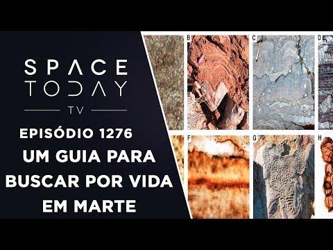 Um Guia Para Buscar Por Vida Em Marte - Space Today TV Ep.1276
