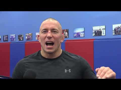 Georges St-Pierre on spoiling his family