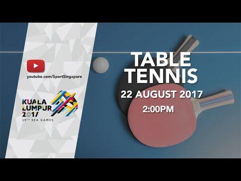 Table Tennis Women's Singles Final   29th SEA Games 2017