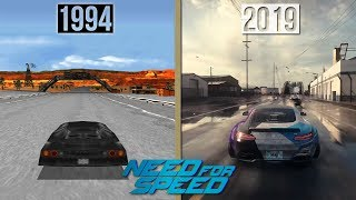 Evolution of Need for Speed Games
