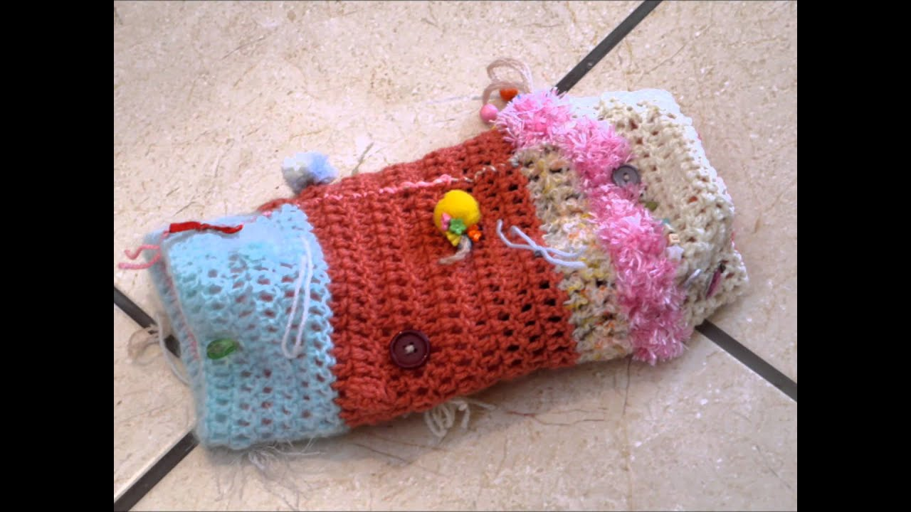 Twiddle Muff Crochet Knit Or Sew From An Old Jumper