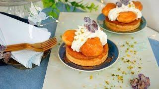 Saint-Honoré-Torte - Klassische St. Honoré Törtchen Tutorial - Französischer Klassiker - Kuchenfee
