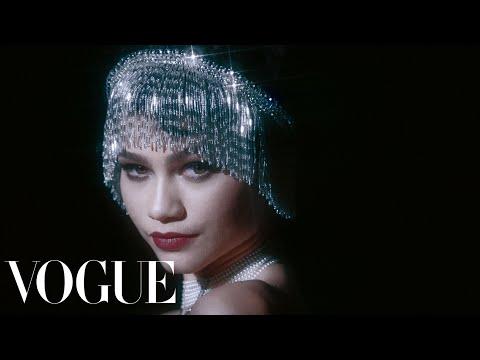 Zendaya Does 100 Years of Beauty | Vogue - Видео онлайн