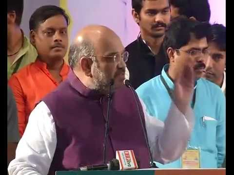 Shri Amit Shah's speech during Social Media Volunteers' Meet in Lucknow, Uttar Pradesh. 03.09.2016