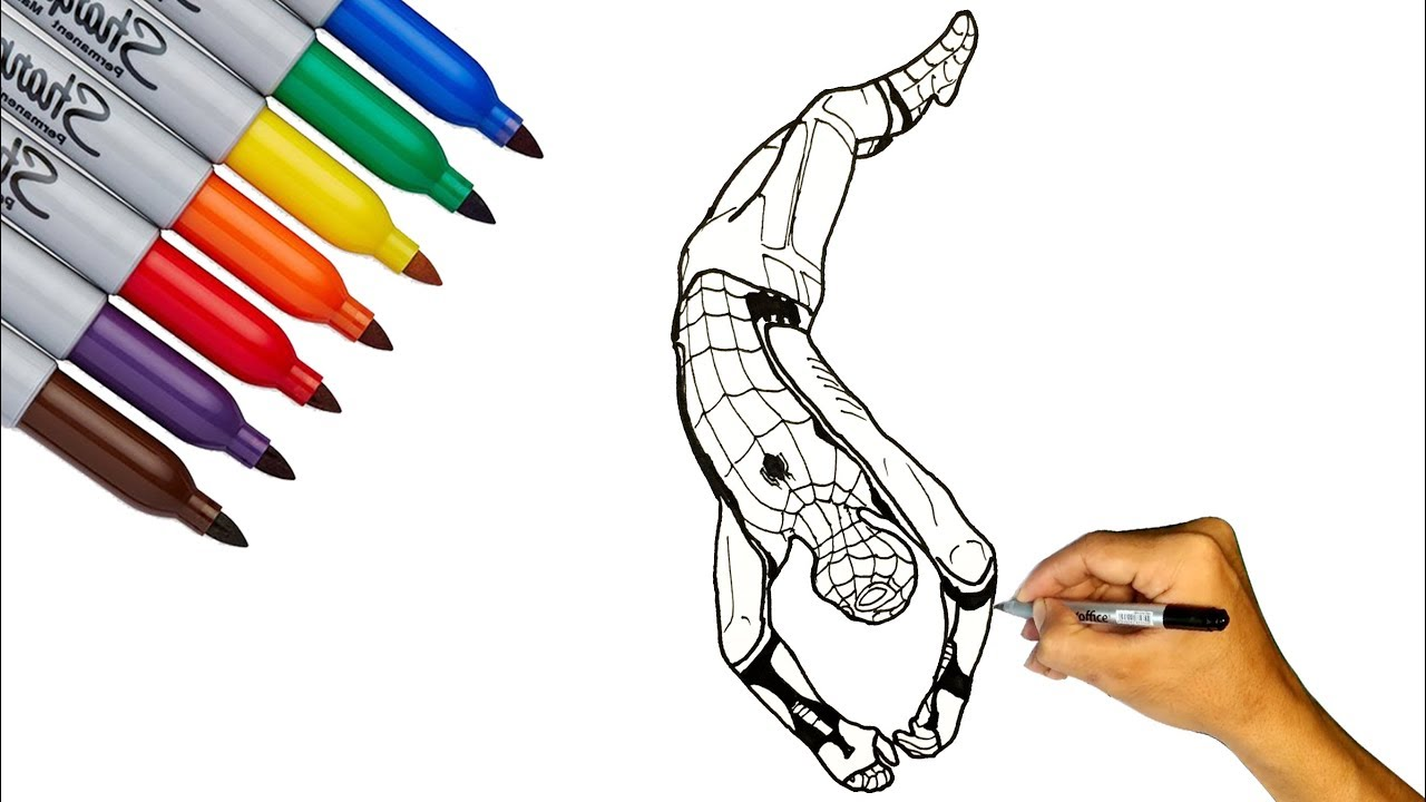 840 Top Draw It Too Coloring Pages Spiderman Images & Pictures In HD