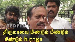 thirumavalavan vs h raja tamil live news, tamil news today, tamil, latest tamil news, redpix