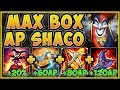 WTF! ONE AP SHACO BOX 100% DOES TOO MUCH DAMAGE! SHACO SEASON 9 TOP GAMEPLAY! - League of Legends