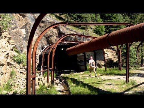 Exploring The Abandoned Columbia Mine - Jevne Adit