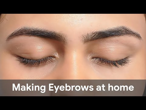 How To Do Perfect Eyebrows At Home | Beginner's Guide from YouTube · Duration:  9 minutes 18 seconds