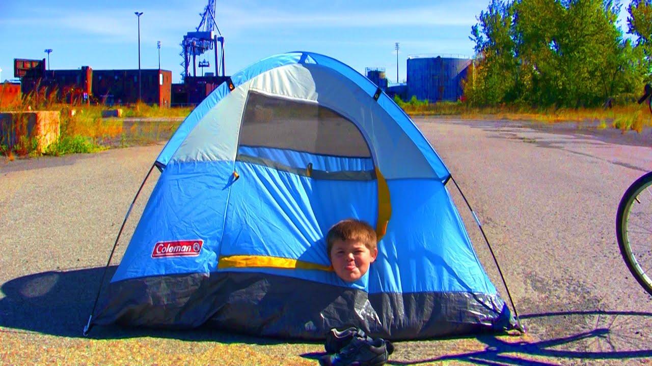 ou planter sa tente
