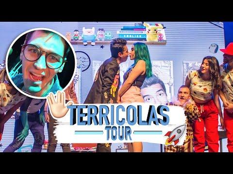 SECRETOS del TERRICOLAS TOUR de AMI RODRIGUEZ - TRAS ESCENA - Sebastian Silva