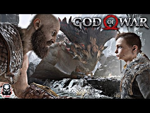God of War 4: Open World| KRATOS AND SON!! EXPLORATION