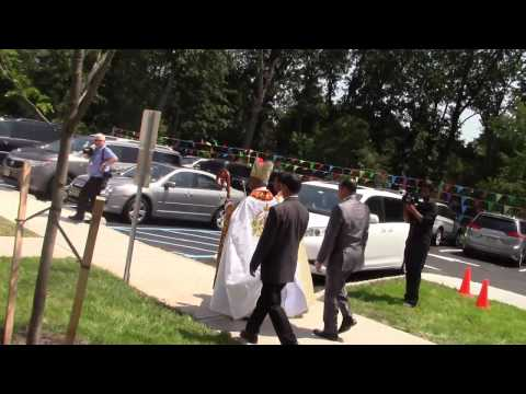 Consecration of St. Thomas Syro- Malabar Catholic Forane Church, Somerset, NJ, USA.