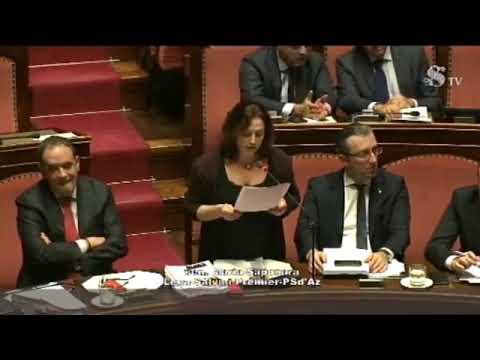 La senatrice Mara Maria Gabriella Saponara sul decreto sicurezza