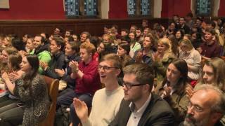 James Blunt Emotional Live Performance At OxfordUnion 2016 | Goodbye My Lover And You