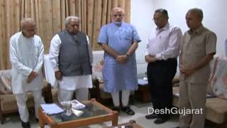 Narendra Modi, Keshubhai Patel attend Shri Somnath Trust meeting, Advani absent