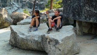 2013 Yosemite NP Family Vacation Home Movie Part 2