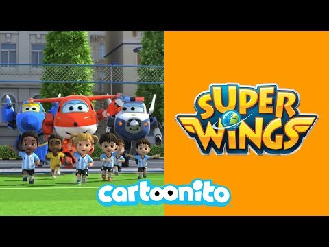 Super Wings | Let's Play Football | Cartoonito UK