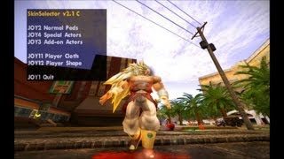GTA SA EVOLUTION DOWNLOAD SKIN BROLY LEGENDÁRIO SSJ3 FULL HD 1080p