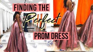 prom dress shopping vlog