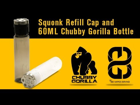 2f1bcefeab2bf6 Squonk Refill Cap (Adapter) for 60ML Chubby Gorilla Bottles by BB VAPES  BRVND