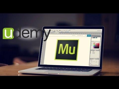 Cursos Udemy Diseña sitios web en HTML5 con Adobe Muse CC sin programar