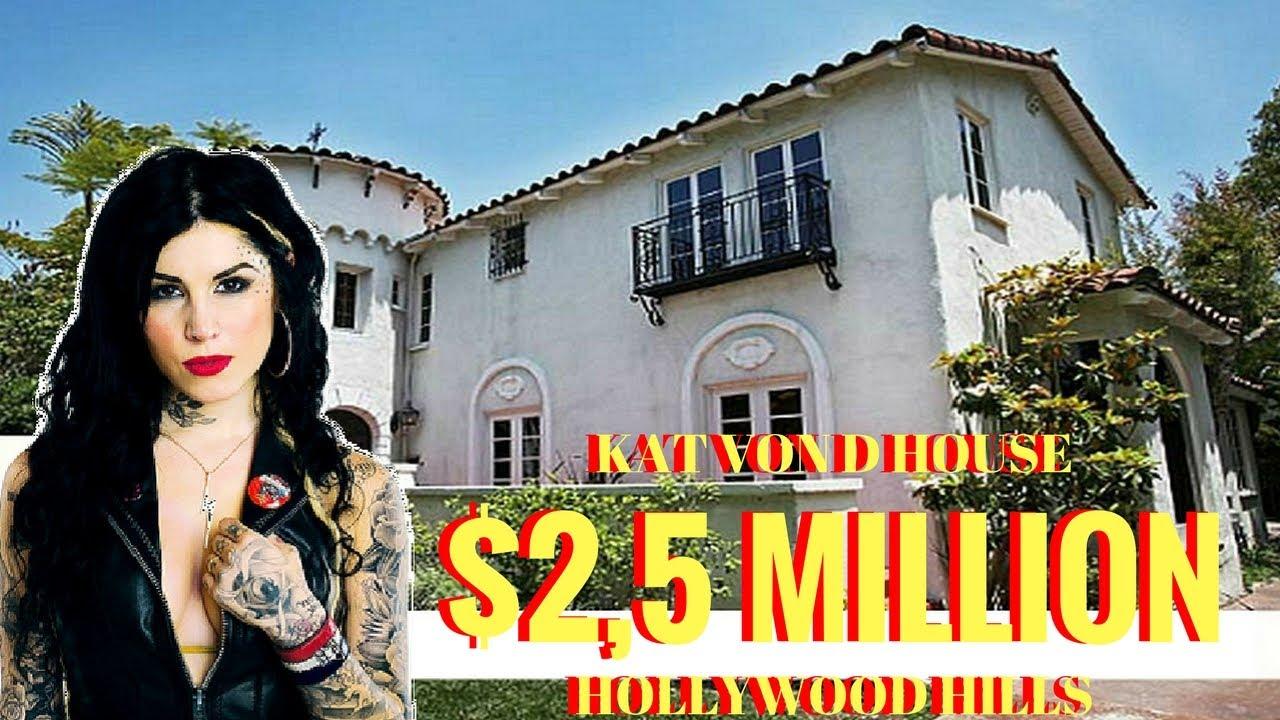 Look Inside Kat Von D House Decor - YouTube