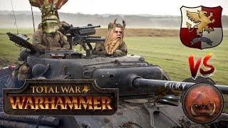 Total War Warhammer Tournament Cast #7: Greenskins vs Empire - Total Warhammer Cup