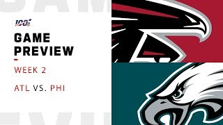 Atlanta Falcons vs. Philadelphia Eagles Week 2 NFL Game Preview