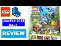 Lego Life Magazine Review: January-February 2018