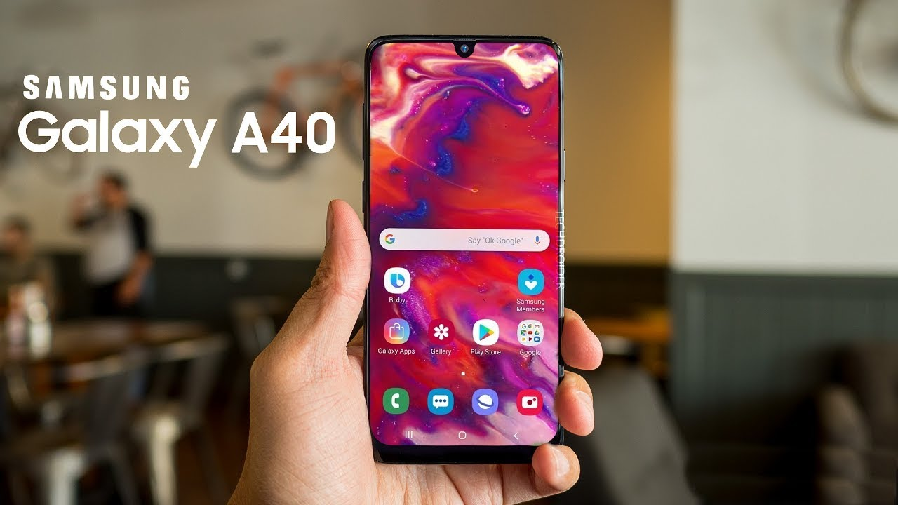 Samsung Galaxy A40 OFFICIAL- TOP 5 FEATURES!!!