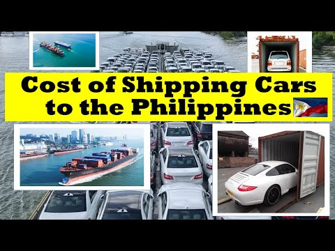 Cost of Shipping Cars to the Philippines
