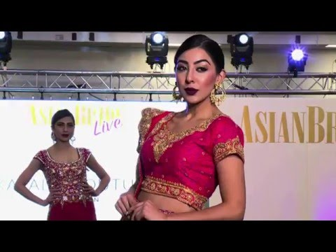 Kajal's Couture - Asian Bride Live 2015 - The V.I.P Studio