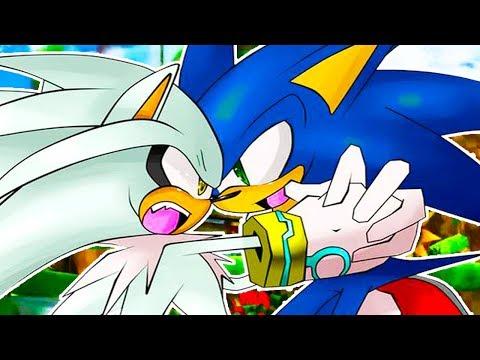 СОНИК ПРОТИВ СИЛЬВЕРА! - Sonic Generations #10 - Прикольное