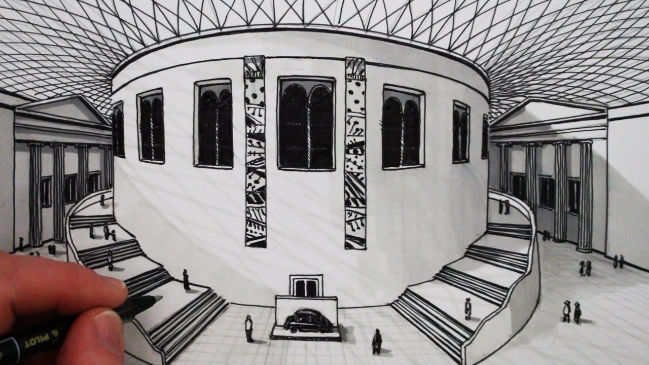 How To Draw 1 Point Perspective The British Museum