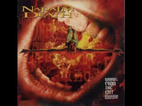 Napalm Death - Trio-Degradable/Affixed by Disconcern